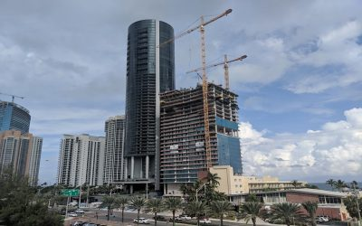 Dezer May Be Planning 749-Foot Tower To Replace Thunderbird In Sunny Isles