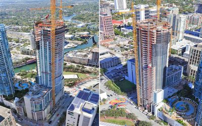 Fort Lauderdale's Tallest Building Tops Off At 46 Stories, 499 Feet