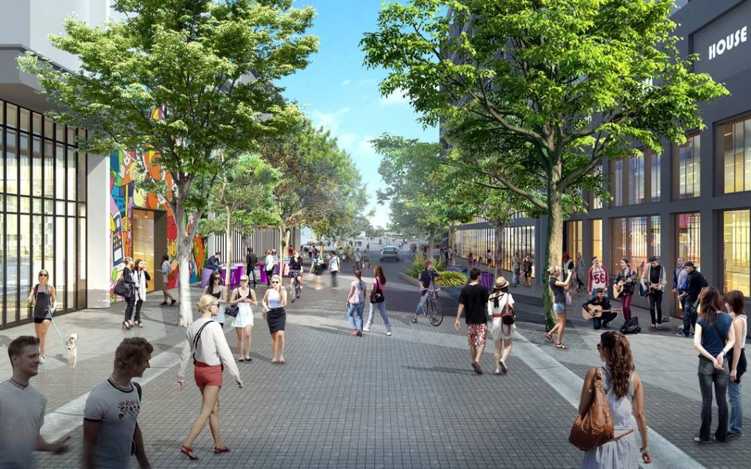 This plan for a greener Wynwood could mean broad new sidewalks, shade trees and plantings