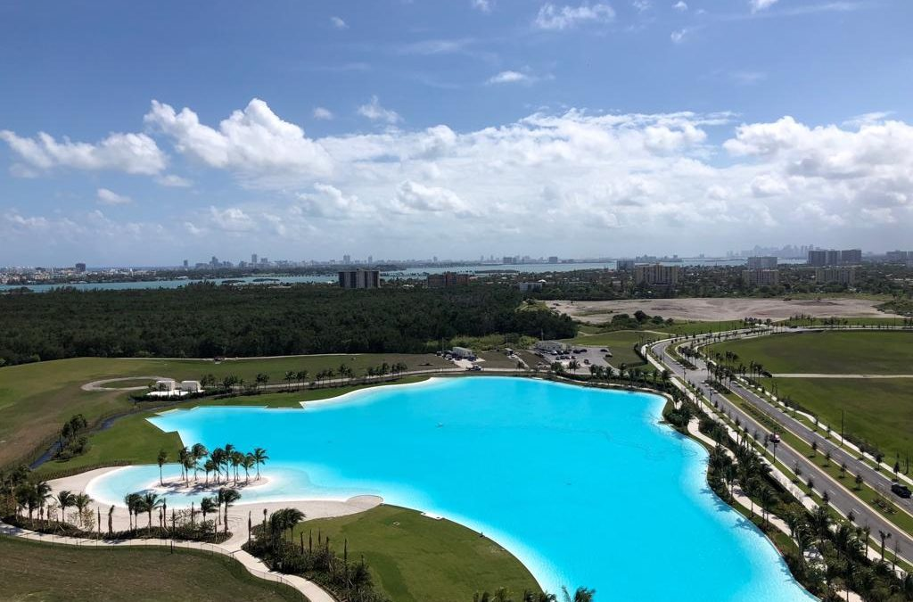 OVERWHELMING' DEMAND FOR APARTMENTS AT SOLEMIA, WITH VIEWS OF MASSIVE MAN-MADE LAGOON