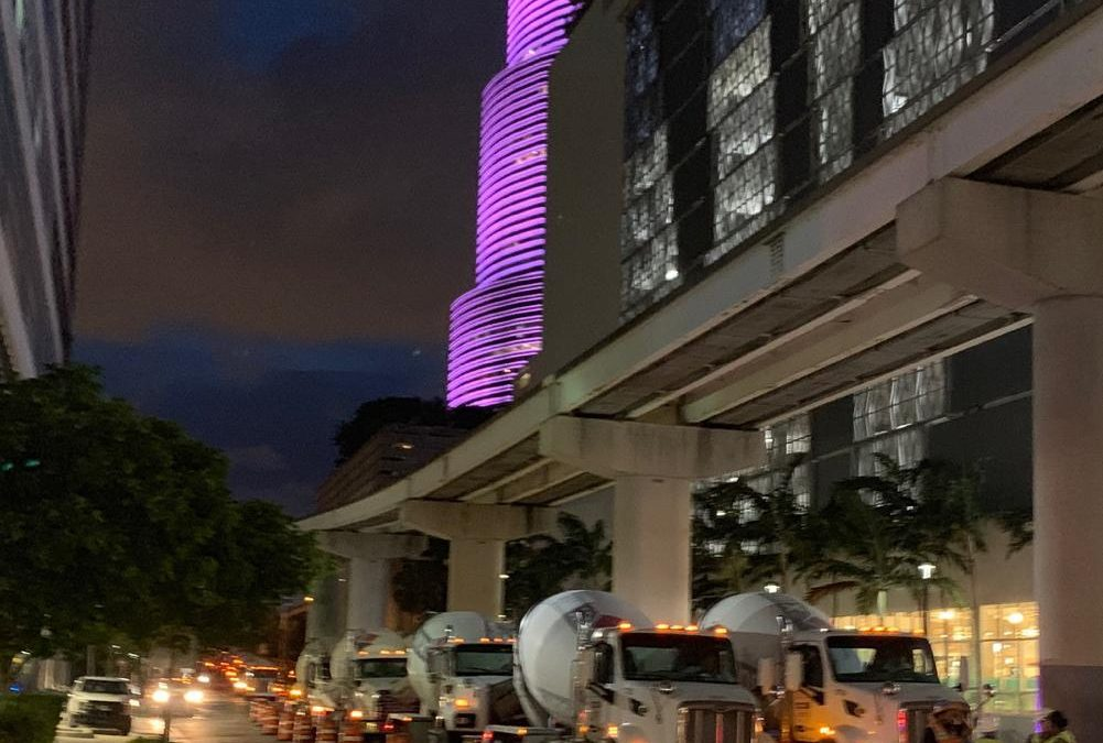 ASTON MARTIN RESIDENCES ON TRACK TO BECOME MIAMI'S SECOND TALLEST TOWER AFTER COMPLETING FOUNDATION POUR